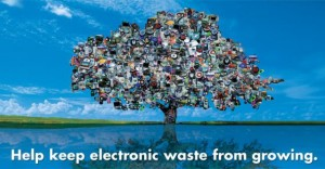 how does e waste affect global warming