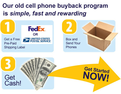 3 Steps to sell old cell phones