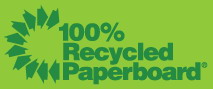 Recycling Sign - Paperboard